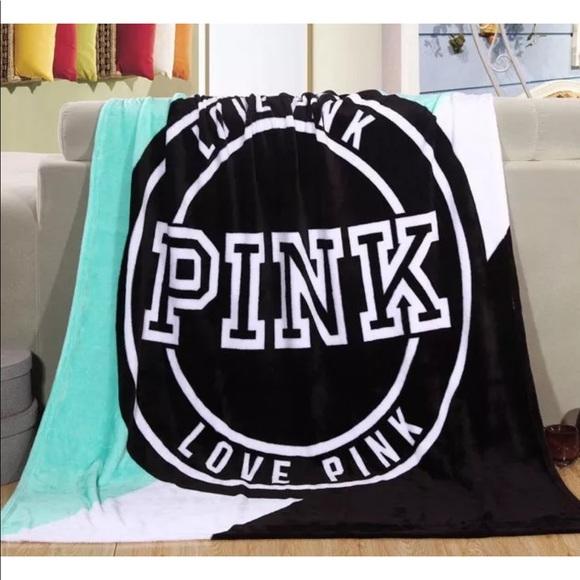 Victoria S Secret Bedding Teal Victorias Secret Pink Blanket